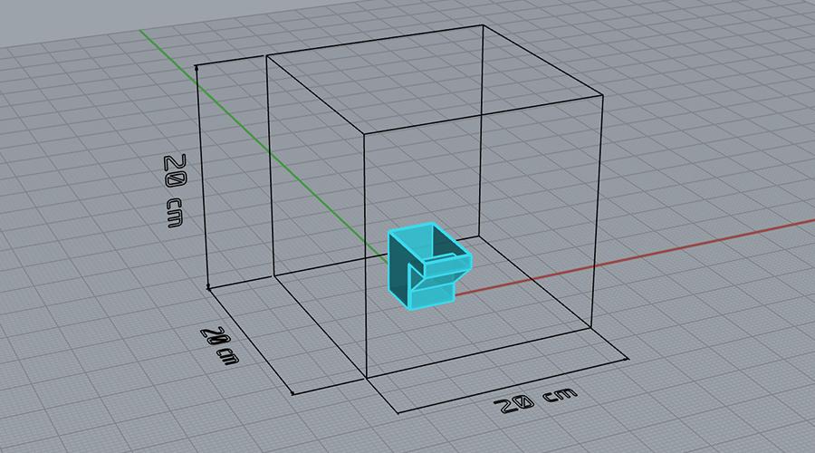 Volumen impresión 3D
