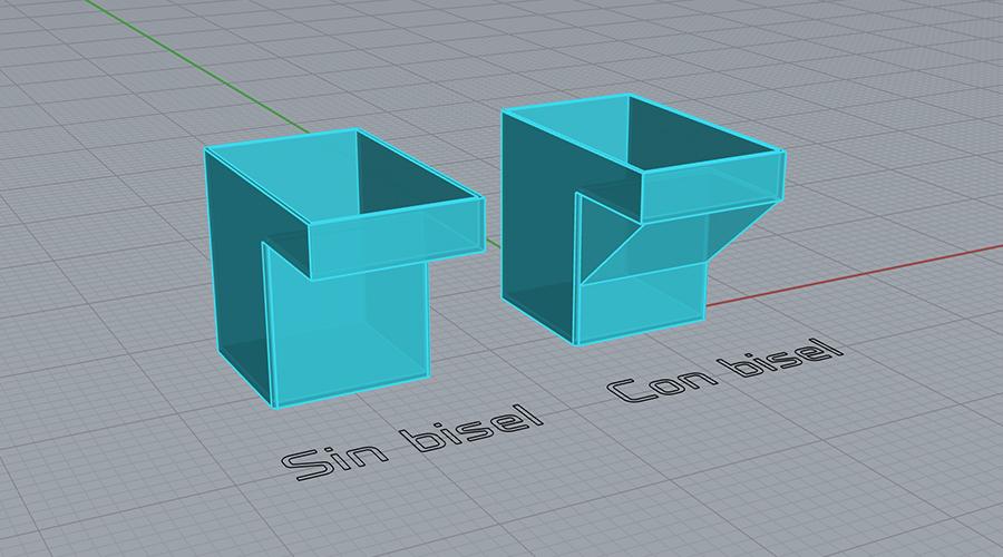 Bisel Impresión 3D