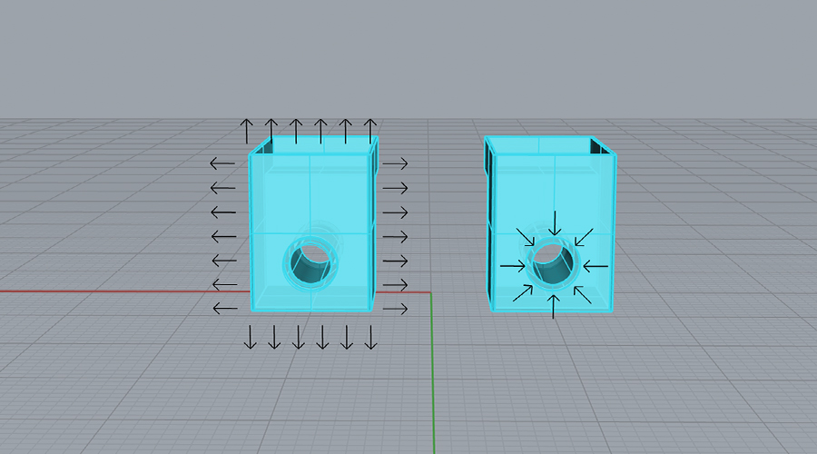 Contracción y Expansión en Impresión 3D